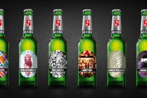 Beck's launches limited-edition labels