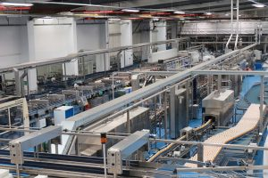 Britvic drinks to production line progress