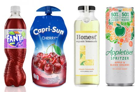 New flavours from Coca-Cola brands