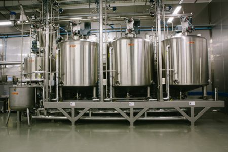 Industrial Systems and installations for the production, conservation and stabilisation of liquid sour-dough « even with rye flour »