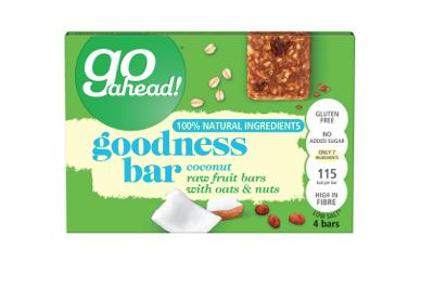 Go ahead! extends Goodness Bar range
