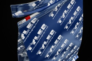 Flexible packaging with re-sealable sliders