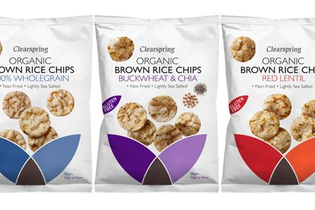 Clearspring unveils Organic Brown Rice Chips