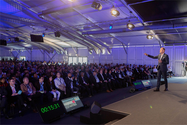 Bühler raises its sustainability targets at networking event