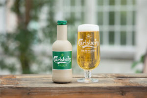 Carlsberg issues progress on Green Fibre Bottle