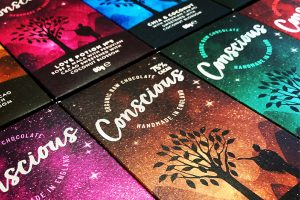 Qualvis produces ethical packaging for chocolate bars