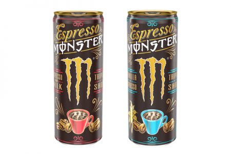 Monster Energy expands into RTD Coffee