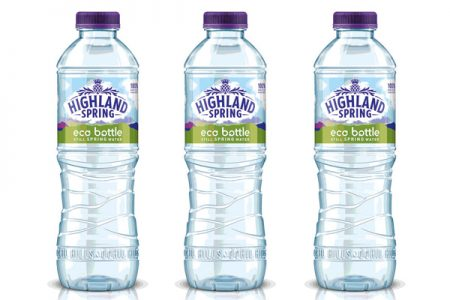 Highland Spring's eco bottle here to stay