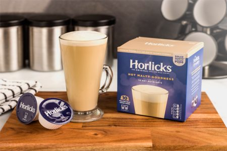 Horlicks launches pods