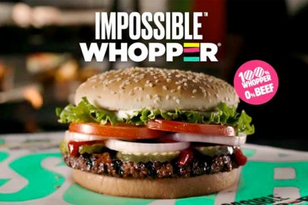 Burger King's Impossible Whopper to roll out across US