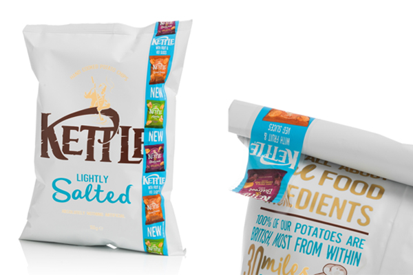 Essentra's Re:Close Tape provides promotional boost for Kettle Chips