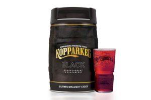 Enjoy Kopparberg Black at home in 5litre KopparKeg