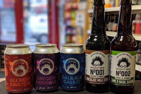 Beers brewed using vertical farming