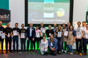lunch! Innovation challenge Winners revealed
