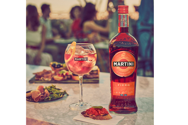 Martini shakes up vermouth category with new Fiero