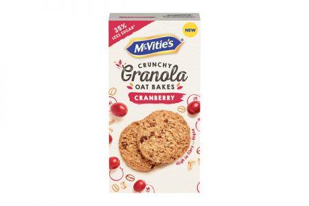 McVitie's launch new Granola Oat Bakes