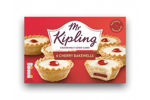 Mr Kipling switches black plastic trays for clear