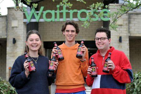 Student beer hits Waitrose shelves