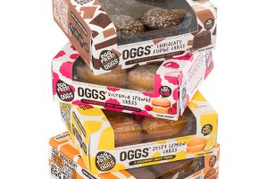 OGGS all–plant cake range to launch in supermarkets nationwide