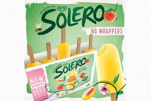 Solero trials wrapper-less packaging
