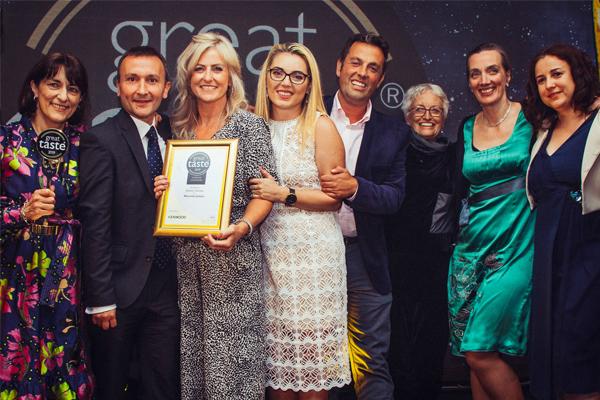 UK hazelnut gelato wins Great Taste Supreme Champion award