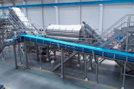 Cavendish Farms install Tomra eco steam peeler