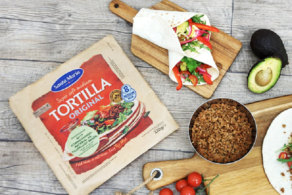Santa Maria tortillas save plastics with new packaging from Flextrus