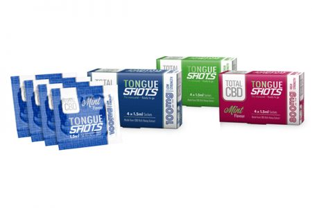 Total CBD launches £1 Tongue Shots in UK first