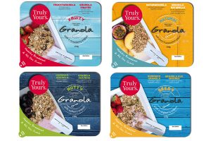 Truly Yours launches Grab & Go granola/yogurt combo in Europe