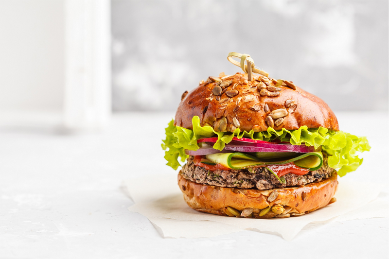 BLC introduces plant-based fats for veggie burgers