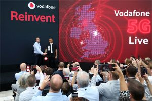Vodafone demonstrates how 5G will benefit the industry