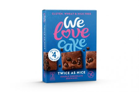 Free-from Double Chocolate Brownies gain Co-op listing