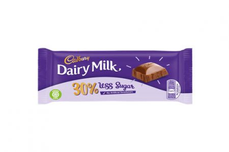 Cadbury to slash sugar content of Dairy Milk bar