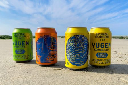 Yugen launches kombucha in cans
